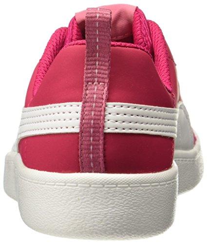 Puma Courtflex PS, Zapatillas Unisex Niños Rosa (Love Potion-White)