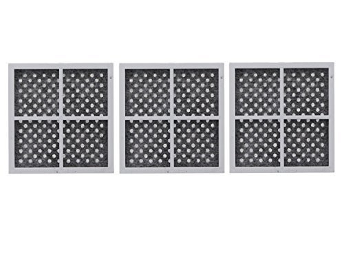 3 Pack Replacement, Refrigerator Air filter to LG LT120F, ADQ73214404, Kenmore ()