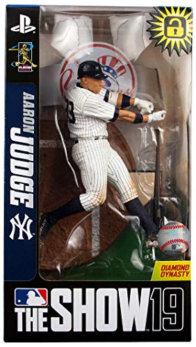 Imports Dragon McFarlane Aaron Judge (New York Yankees) MLB The Show 19 Figure - Limited Edition Exclusive White Pinstripes
