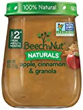 Beech-Nut Stage 2 Baby Food, Apple/Cinnamon/Granola, 4.0 Ounce (Pack of 10)
