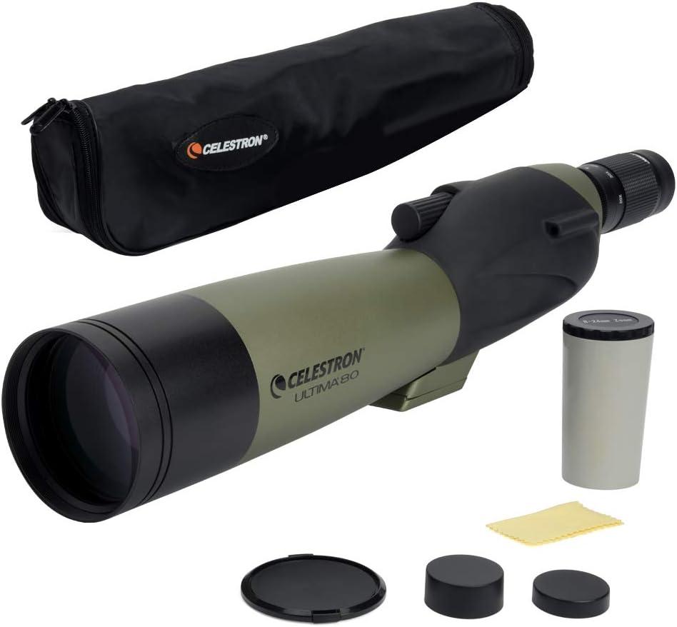 best spotting scopes for hunting: Celestron Ultima 80 Straight Spotting Scope