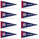 Texas Rangers 8 Piece Mini Pennant Set