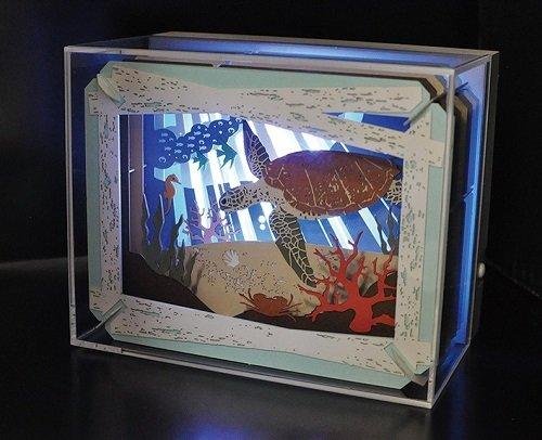ensky Paper Theater Light-up case from ensky