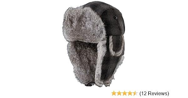 501ceea619ea7 Woolrich Men s Wool Blend Fur Tropper Hat