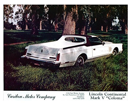 1979 Lincoln Mark V Coloma Pickup Truck Photo