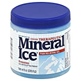 Mineral Ice Therapeutic Pain Relieving Gel, 8-Ounce Jars