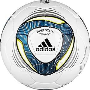 adidas Women's World Cup 2011 Replique Soccer Ball (White, Fresh Splash, Acid Buzz, 4)