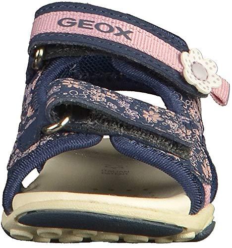 Navy Bebé Niñas para Geox B A Sandal Sandalias C4002 Girl Agasim pnpH6Uaqz