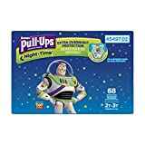 Pull-Ups Night-Time, 2T-3T (18-34 lb.), 68 Ct., Potty Training Pants for Boys, Disposable Potty Training Pants for Toddler Boys (Packaging May Vary)