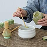 TEANAGOO MB-1 Japanese Pottery Matcha Bowl- Ivory