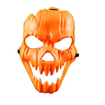 Wakerda 1 Piezas de máscara de Miedo de Halloween para Adultos Máscara de Cabeza de Halloween