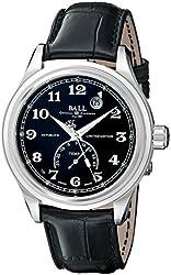 Ball Men's NT1050D-LJBKCBK Trainmaster Celsius Analog Display Swiss Automatic Black Watch