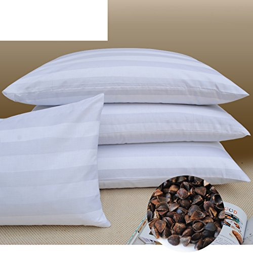JGXVUYKDFV Buckwheat Pillow/buckwheat Shell Pillow core/Pure buckwheat Skin Pillow/[Pillow]/Full buckwheat Pillow/arm…