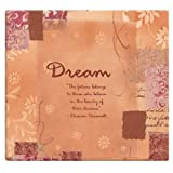MCS MBI by 866105 Expressions Collection 13.2 by 12.5-Inch Scrapbook with 12 by 12-Inch Top Loading Page, Dream