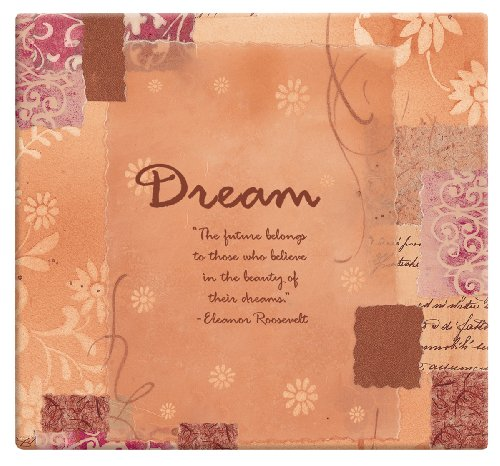 Expressions Scrapbook Album - MBI 13.2x12.5 Inch Expressions Post Bound Dream Album, Orange (866105)