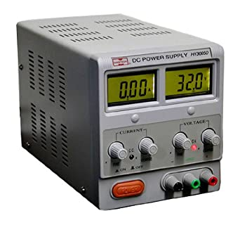RSR Electronics 01HY3005D- Variable Linear Lab Power Supply, 0-30V ...