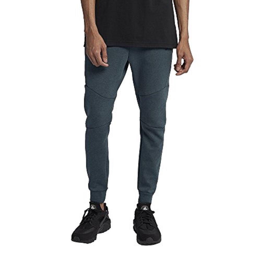 47c37b9f8f1ff Galleon - Nike Mens Sportswear Tech Fleece Jogger Sweatpants Deep  Jungle/Heather/Black 805162-328 Size Large