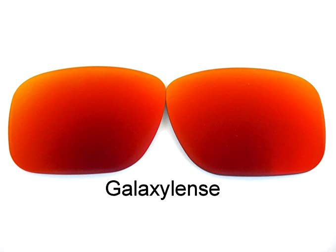 6126f90d9b Amazon.com  Galaxy Replacement Lenses For Oakley Mainlink Sunglasses  Polarized Red  Clothing