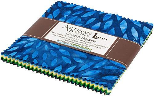 Lunn Studios Artisan Batiks Sunny Day Charm Square 42 5-inch Squares Robert Kaufman CHS-789-42