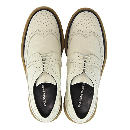 Chaussures À Barcelo Paloma Lacets Blanc Florida H58qAAxwg