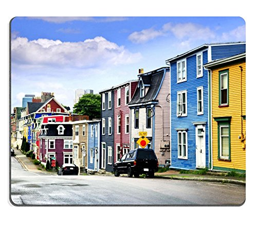 liili-mouse-pad-natural-rubber-mousepad-street-with-colorful-houses-in-st-john-s-newfoundland-canada