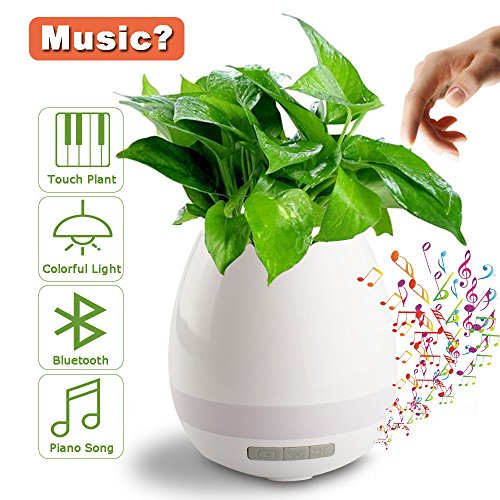 Music Flower Pot, ATIVI Touch Plant Piano Music Playing E...