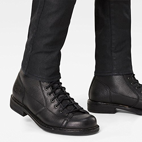 Aged Black Revend 2967 jeans Schwarz G star Super Uomo Raw Slim 3d Dark Aqqw0PFx