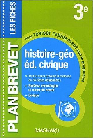 Lire Histoire-géo, éducation civique 3e pdf ebook