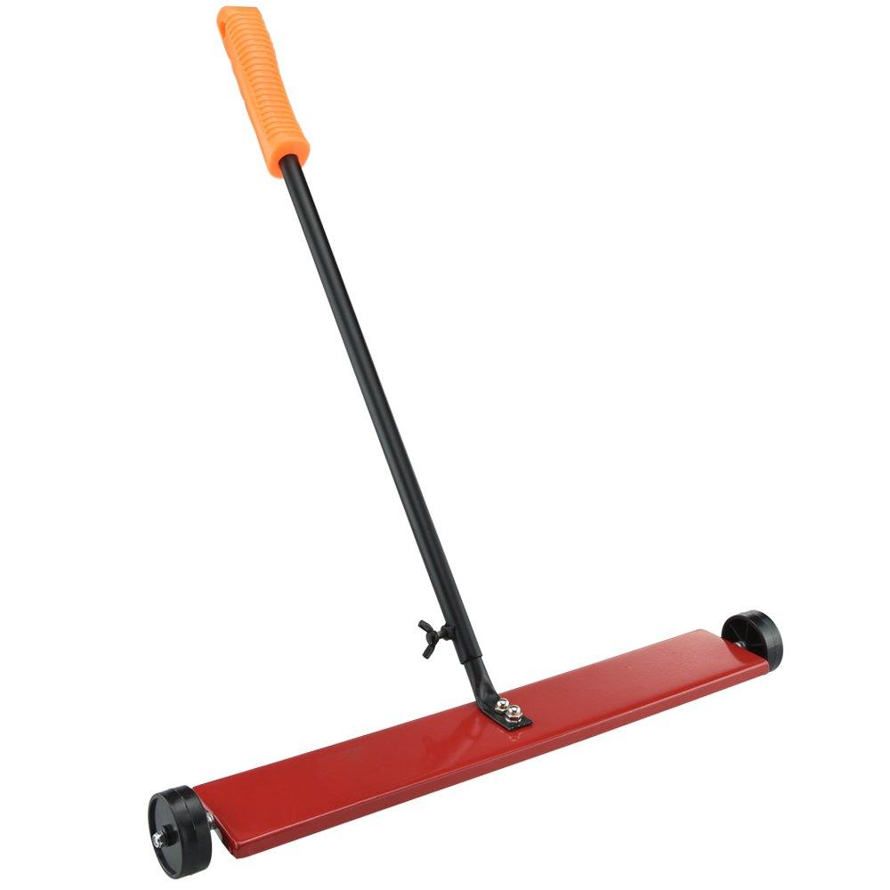 "Hiltex 53417 Magnetic Pick Up Sweeper, 16"" Width | Adjustable Handle"