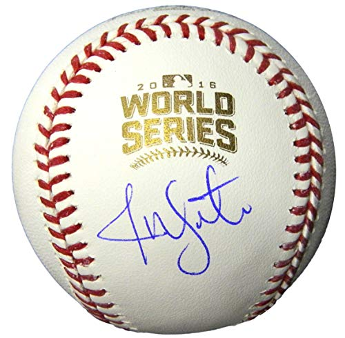 - Jon Lester Autographed Baseball - Rawlings Official 2016 World Series - Autographed Baseballs