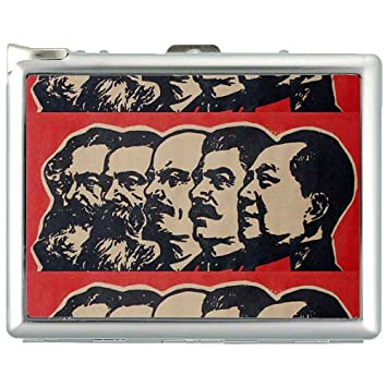 Amazon.com: Chino Comunista V2 Caso de cigarrillos ...