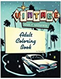 Cult Movie Adult Coloring Book: Vintage cult movie and television's most famous scenes