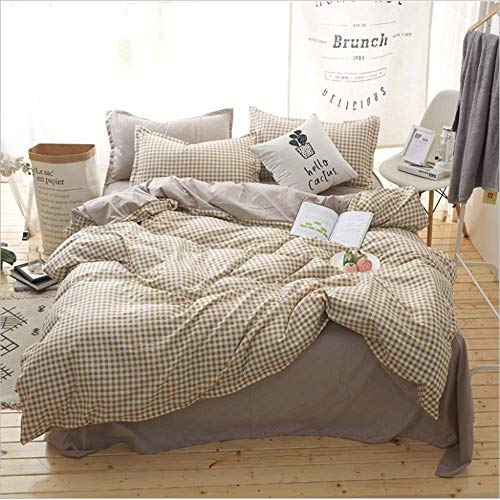 - Bedding Duvet Cover Set Bedding Sets Size Bedclothes Single Queen Double Super King N 200x230cm