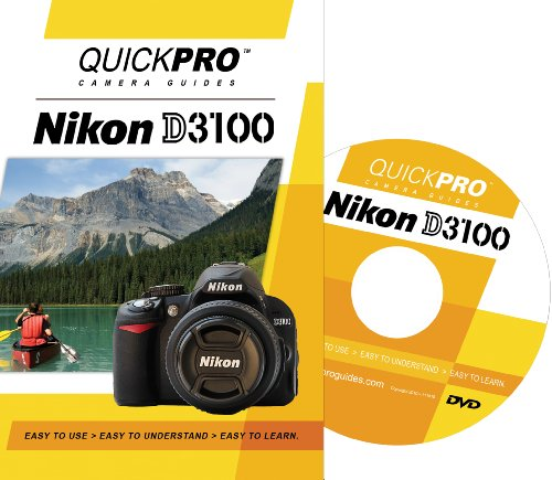 Nikon D3100 Instructional DVD by QuickPro Camera ()