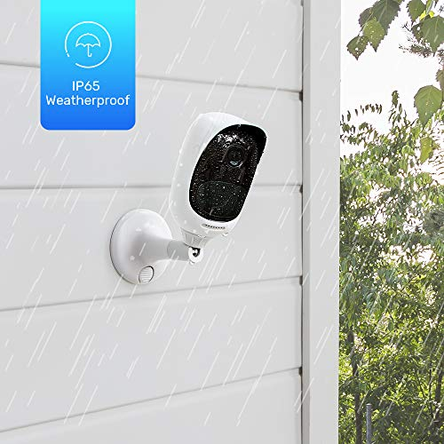 Reolink Argus Pro (Pack of 2) Rechargeable Battery Solar-Powered Outdoor Wireless Security Camera, 1080p HD Night Vision, 2-Way Audio, Alarm Alert and PIR Motion Sensor, Built-in SD Socket and Cloud by REOLINK (Image #4)
