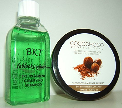 Brazilian Hair Straightening / Blow Dry Home Keratin Treatment 100ml KIT
