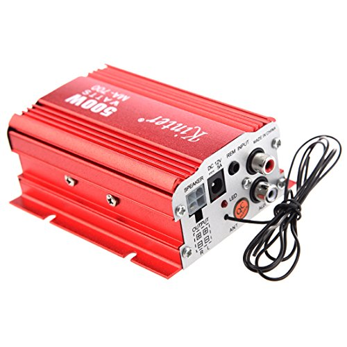 Amplifier - Kinter MA 700 USB Car MP3 FM Amplifier with remote control (2 canals, 500 watts, (Dsp Amplifier)