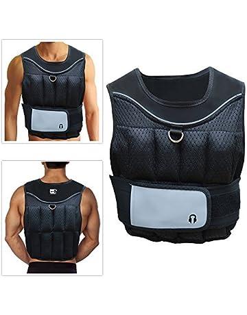 Marca Sporteq ajustable Crossfit peso chaleco 10 kg para pérdida de peso para entrenamiento gimnasio