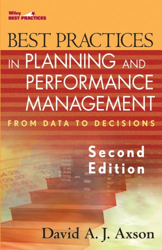 Download Best Practices in Planning and Performance Management: From Data to Decisions (Wiley Best Practices) Pdf