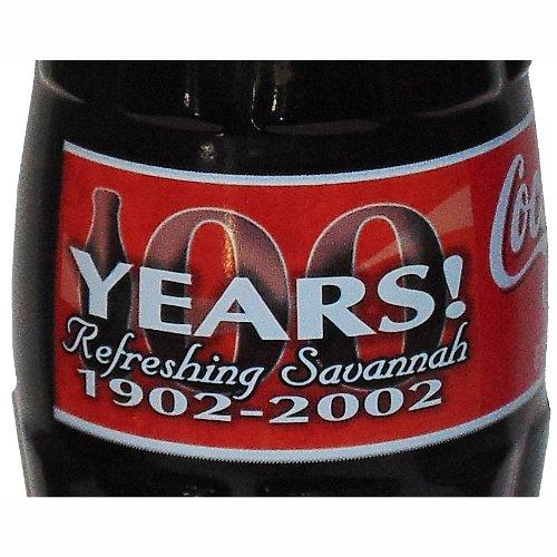 Savannah GA Bottling 100th Anniversary Coca-Cola Bottle 2002 from Coca-Cola