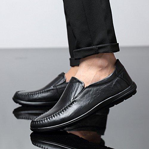 Scarpe Scarpe Antiscivolo Piselli Grandi Selvatici Maschio comode Black Dimensioni di Scarpe Singole Casual ZFNYY fnHwqpTxq