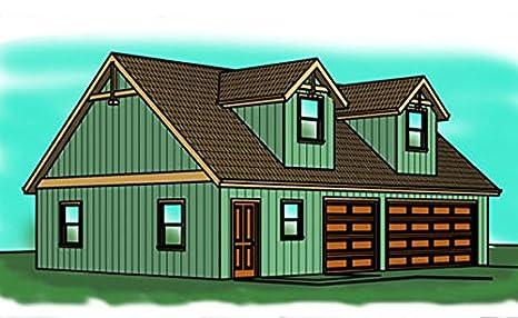 Garage Plans - 46' by 28' - Three Car with Shop, Single ... on loft stairs plans, rustic vacation home plans, lake chalet home plans, hilltop home plans, loft in house, loft doors, loft home, loft cabin plans, log home floor plans, mobile home park model plans, loft design, loft building, loft ideas, jack and jill bathroom plans, sleeping loft plans, garage apartment floor plans, townhouse plans, loft barn plans, loft garage plans,