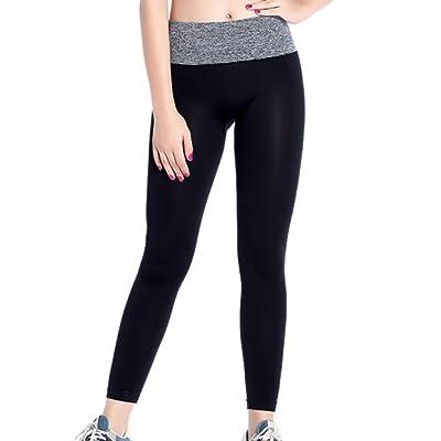 Loveble Women's Elastic Quick-Drying Yoga Tight Ssports Running Fitness Pants