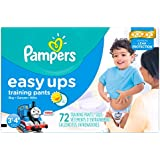 Pampers Easy Ups Training Pants Boys Size 5 3T/4T 72 Count