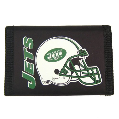 Rico Industries NFL New York Jets Trifold Wallet Nylon