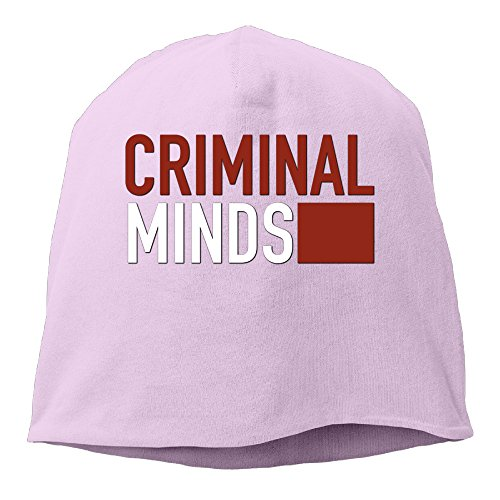 Bad Halloween Party Costume City Breaking (YUVIA Criminal Minds Men's&Women's Patch Beanie RowingPink Cap Hat For Autumn And)