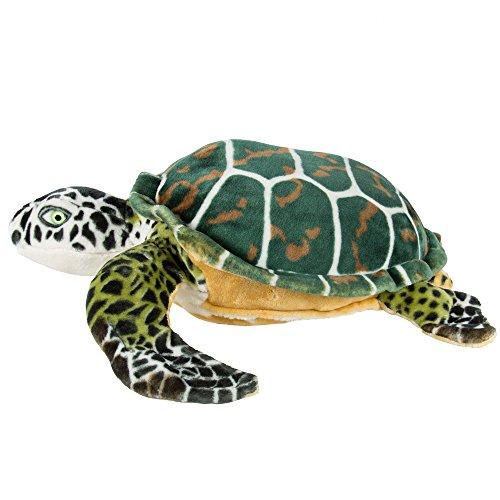 Angelwing Large Sea Turtle Plush Animal Realistic Tortoise Soft Stuffed Toy Pillow