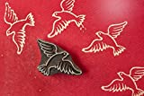 Blockwallah Peace Bird Wooden Block Stamp