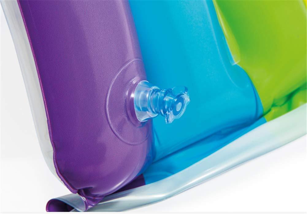 Amazon.com: Rainbow Baby Paddling Pools Iris Inflable Piscina Flotador Anillo De Natacion Adultos Ninos Agua Holiday Party Juguetes Piscina: Sports & ...