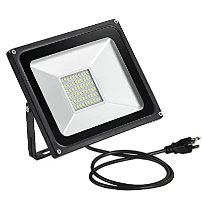 Generic 100 Watt 8640lm LED Waterpoof Outdoor Security Floodlight